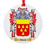 Alford Round Ornament
