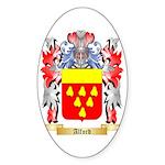 Alford Sticker (Oval 50 pk)