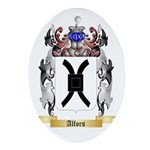Alfors Ornament (Oval)