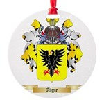 Algie Round Ornament