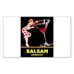Balsam Aperitif Sticker (Rectangle 10 pk)