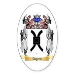 Algren Sticker (Oval 50 pk)