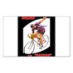Biking is My Passion, Bi Sticker (Rectangle 10 pk)