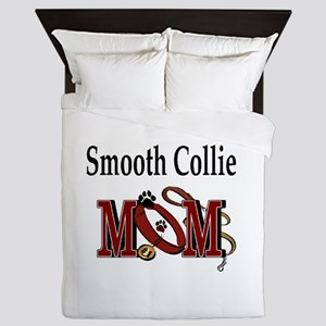 Smooth Collie Mom Queen Duvet