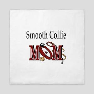 Smooth Collie Mom Queen Duvet