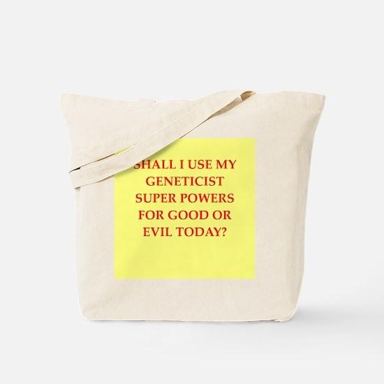 geneticist Tote Bag