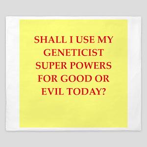 geneticist King Duvet