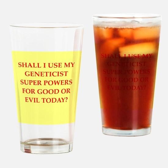 geneticist Drinking Glass