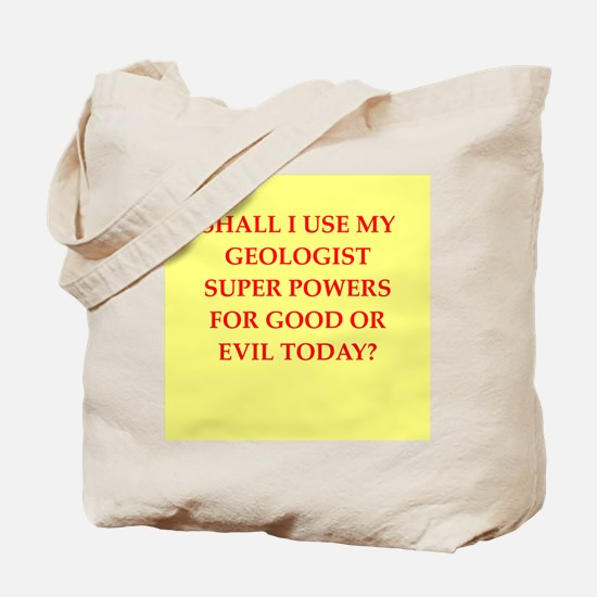 geology Tote Bag