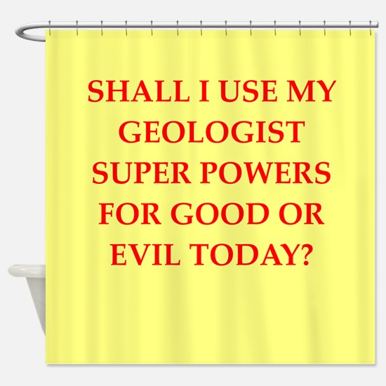 geology Shower Curtain