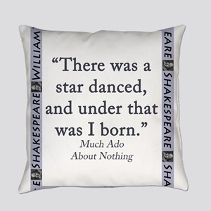 There Was A Star Danced Everyday Pillow