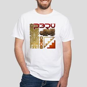 Peru Chavin White T-Shirt