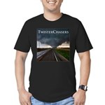 TwisterChasers Tornado Men's Fitted T-Shirt (d