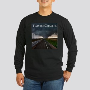 TwisterChasers Tornado Long Sleeve Dark T-Shir