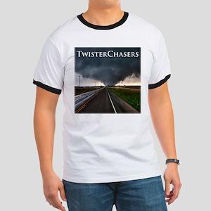 TwisterChasers Tornado Ringer T