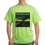 TwisterChasers Tornado Green T-Shirt
