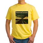 TwisterChasers Tornado Yellow T-Shirt