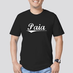 Aged, Paia Men's Fitted T-Shirt (dark)