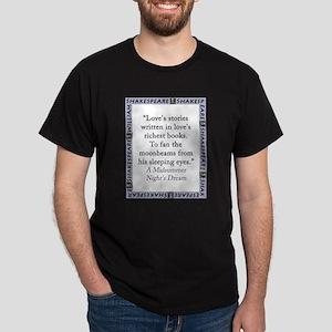 Loves Stories Written T-Shirt