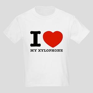 I Love My Xylophone Kids Light T-Shirt