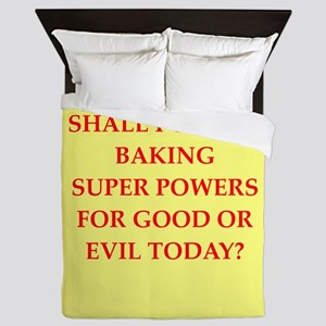BAKING Queen Duvet