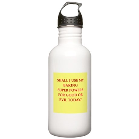 BAKING.png Stainless Water Bottle 1.0L