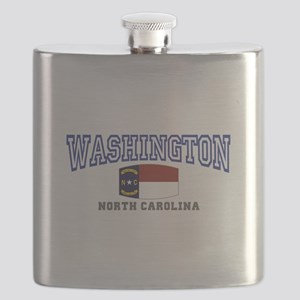 Washington, North Carolina NC USA Flask