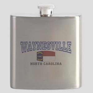 Waynesville, North Carolina NC USA Flask