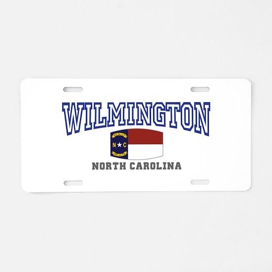 Wilmington, North Carolina NC USA Aluminum License