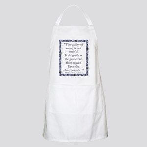 The Quality of Mercy Light Apron
