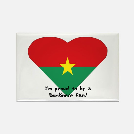 Burkina-Faso flag Rectangle Magnet
