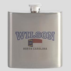 Wilson, North Carolina USA Flask