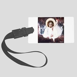 Cosmic Christ Child Large Luggage Tag
