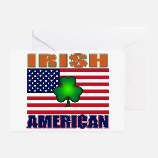Irish American Pride Greeting Cards (Pk of 10)