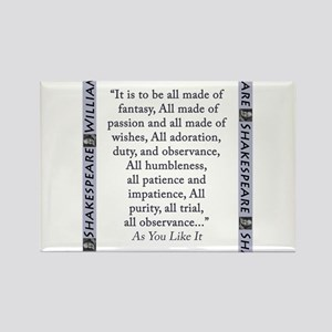 It Is To Be All Made Of Fantasy Magnets