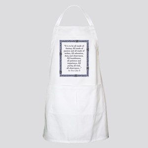 It Is To Be All Made Of Fantasy Light Apron