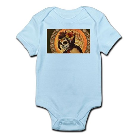 dia de los muertos Infant Bodysuit