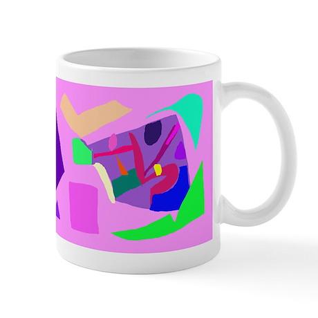 Fortune Time Spirit Human Kandinsky Robot Mug