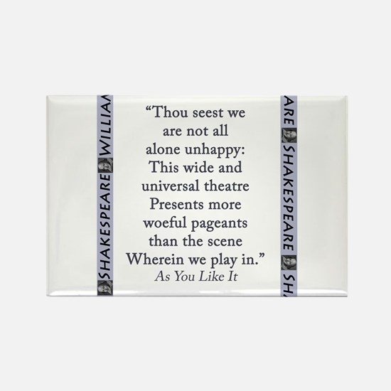 Thou Seest We Are Not All Alone Unhappy Magnets