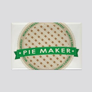 Apple Pie Maker Rectangle Magnet