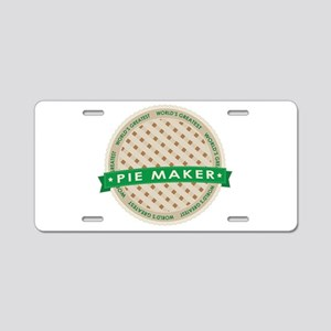 Apple Pie Maker Aluminum License Plate