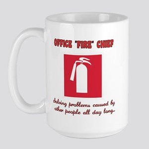 Fire Chief Large Mug
