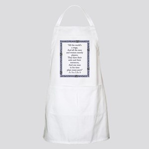 All The Worlds A Stage Light Apron