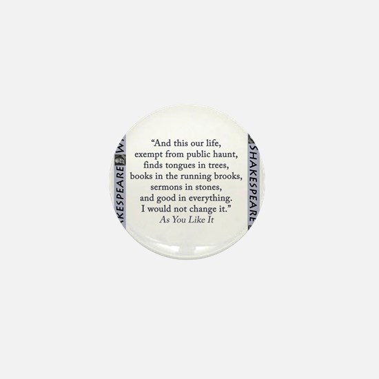 And This Our Life Mini Button