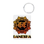 Ganesha bonji Aluminum Photo Keychain