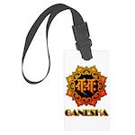 Ganesha bonji Large Luggage Tag
