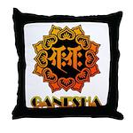 Ganesha bonji Throw Pillow