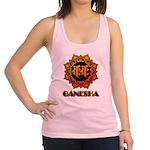 Ganesha bonji Racerback Tank Top