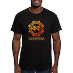 Ganesha bonji Men's Fitted T-Shirt (dark)