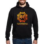 Ganesha bonji Hoodie (dark)